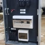 Switchboard installation and repair completed for a Sydney customer with temporary power