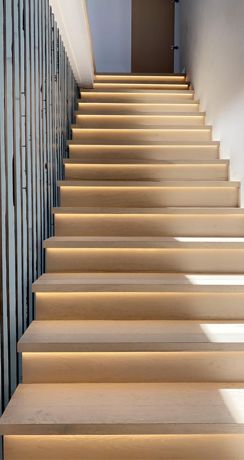 LED Strip lighting Stair LED lighting installer Sydney electrician local Parramatta and Moorebank