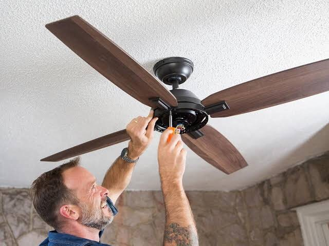 Local Ceiling fan installer in Sydney Justflow Electrician ceiling fan installation service