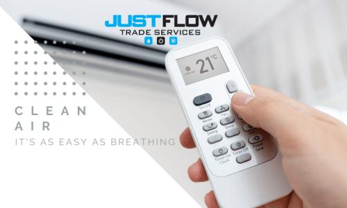 Justflow Split system installer cost cheap supply and installation service Sydney Paramatta Moorebank